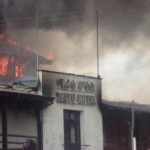 Taitu Hotel on Fire